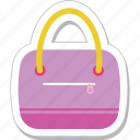 bag, handbag, purse, shoulder bag, woman bag icon