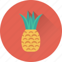 ananas, food, fruit, natural food, pineapple icon
