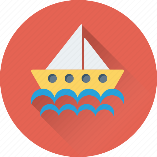 Boat, cruise, ship, vessel, yacht icon - Download on Iconfinder