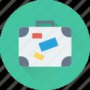 bag, baggage, luggage, suitcase, traveling bag icon