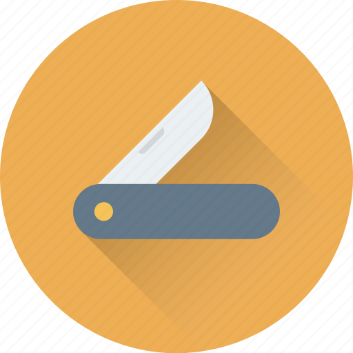 box cutter, cutter, cutter tool, jack knife, pocket knife icon