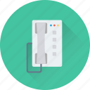 digital phone, fax, landline, phone, telephone icon