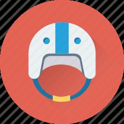 air, air helmet, helmet, sports equipment, sports helmet icon