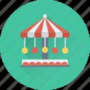 amusement park, fair ride, fun, leisure activity, motion ride icon
