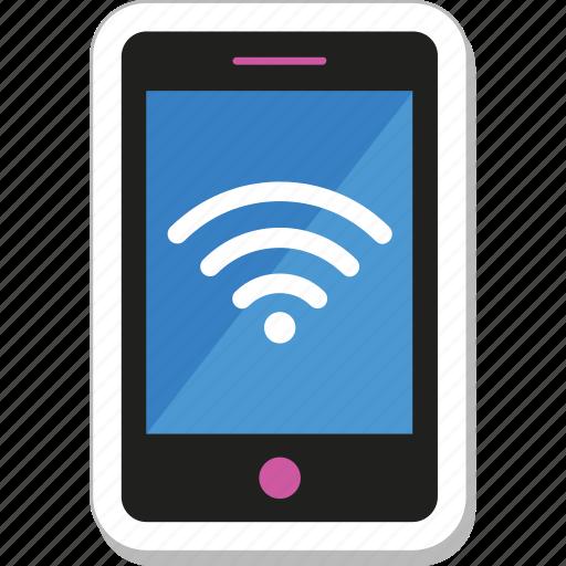 internet, mobile, mobile wifi, wifi, wireless icon