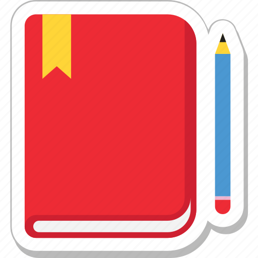 diary, notebook, notes, pencil, writing icon