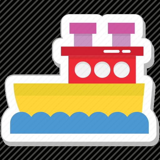 boat, cruise, ship, travel, vessel icon