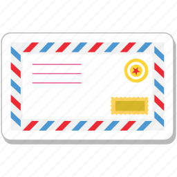 email, envelope, letter, mail, post icon