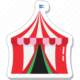 beach tent, camp, camping, tent, tourism icon