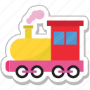 engine, locomotive, steam engine, train, transport icon
