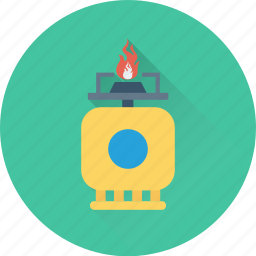 gas cylinder, gas regulator, gas supply, gas tank, oxygen cylinder icon