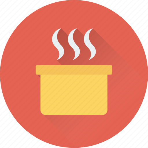 boil, boiling, fire, hot, steam icon