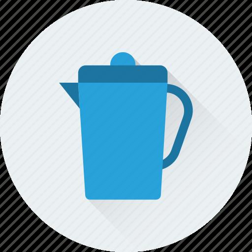 ewer, jug, kitchen utensil, vessel, water jug icon