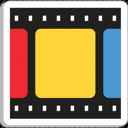 camera reel, film reel, image reel, movie, reel box icon