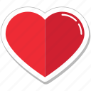 bookmark, favorite, heart, like, love icon
