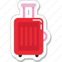bag, baggage, luggage, suitcase, travel bag icon
