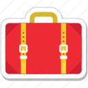 bag, baggage, briefcase, luggage, suitcase icon