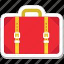 bag, baggage, briefcase, luggage, suitcase