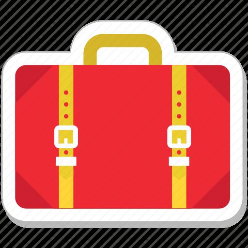 bag, baggage, briefcase, luggage, suitcase icon