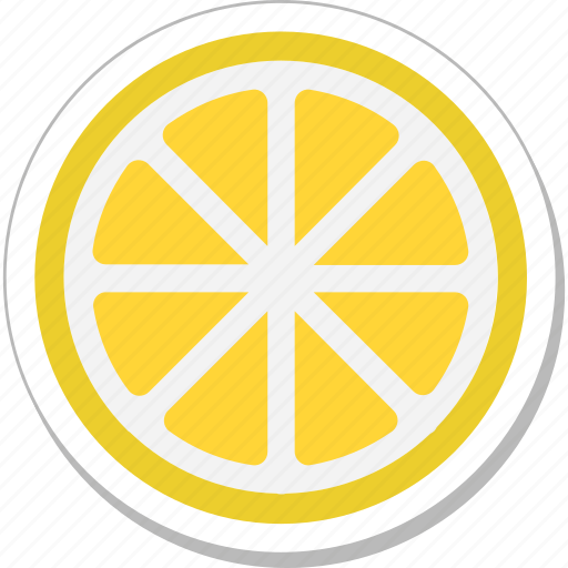 citrus, fruit, lemon slice, lime, orange icon