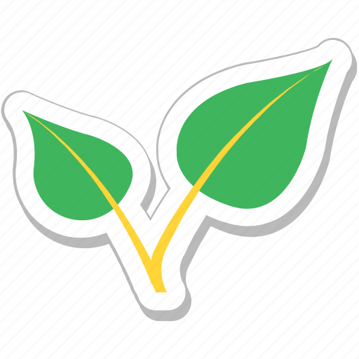 ecology, greenery, leaves, nature, tree leaves icon