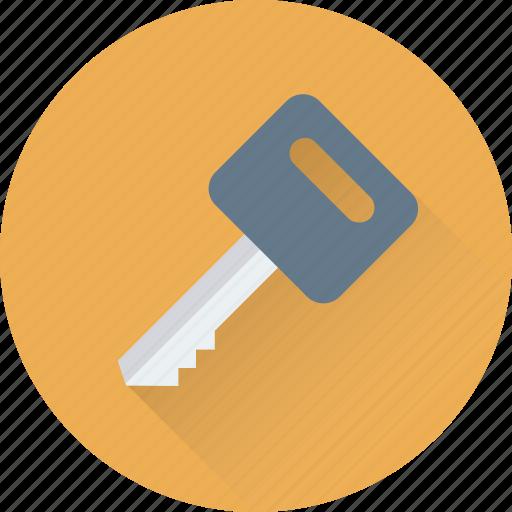 Door key, key, lock key, room key, security icon - Download on Iconfinder