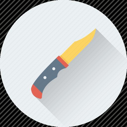 butcher, chef knife, kitchen, knife, utensil icon