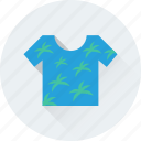 garments, shirt, summer clothes, t shirt, wardrobe icon