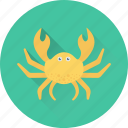 animal, crab, food, lobster, seafood icon
