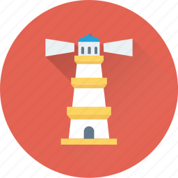 light house, lighthouse tower, sea lighthouse, sea tower, tower house icon
