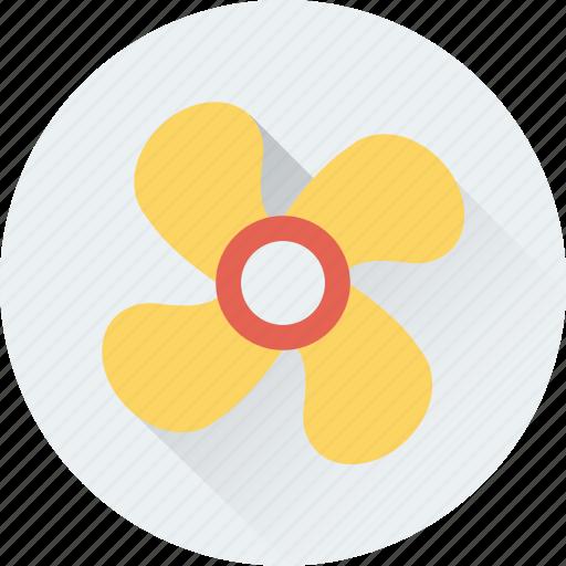 fan, paper windmill, pinwheel, whirligig, windmill toy icon