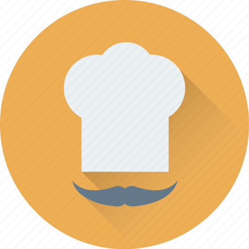chef, chef hat, chef toque, chef uniform, cook hat icon