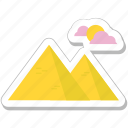 hills, landscape, mountain, nature, peaks