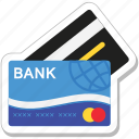 atm card, bank card, cash card, credit card, plastic money icon
