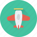 aircraft, fly, jet, plane, training jet icon