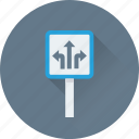 billboard, direction, road direction, traffic, traffic direction icon