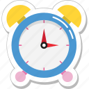 alarm, clock, timekeeper, timepiece, watch icon