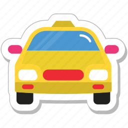 cab, coupes, taxi, taxicab, vehicle icon