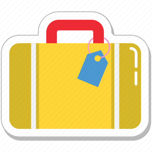 bag, baggage, luggage, suitcase, travel bag icon