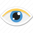 eye, human eye, look, see, watch icon