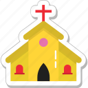 building, catholic, chapel, church, religious place icon