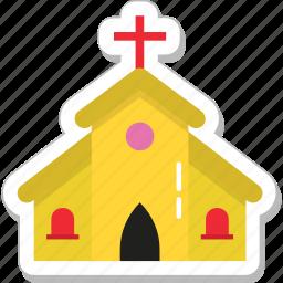 building, catholic, chapel, church, religious place icon