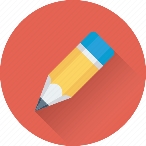 crayon, drawing, pencil, stationery, writing icon