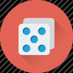 casino, dice, domino, gambling, game icon