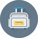 bag, baggage, luggage, luggage bag, travel bag icon