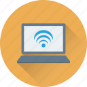 internet, laptop, wifi, wifi connection, wireless signals