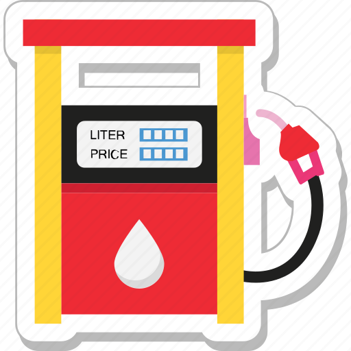 filling station, fuel station, gas station, petrol pump, petrol station icon