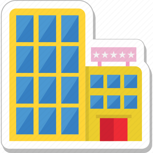 building, hotel, lodge, real estate icon