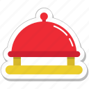 food, platter, restaurant, serving, serving platter icon