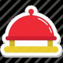 food, restaurant, platter, serving, serving platter icon